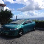 Caribbean Blue/Green on 09 Civic