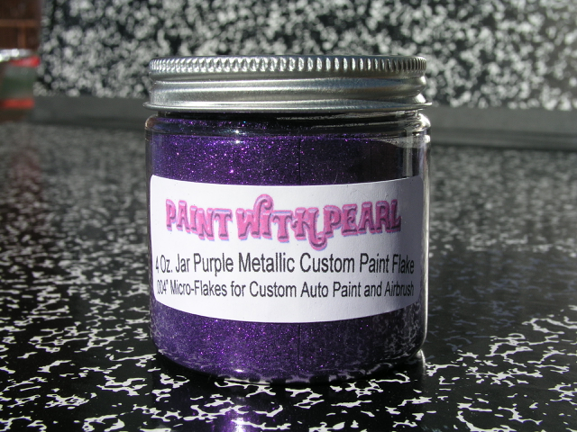 Purple Metal Flake | Pearl and Pigments