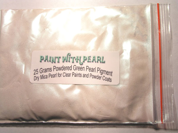 25 gram bag of Green Ghost Pearl