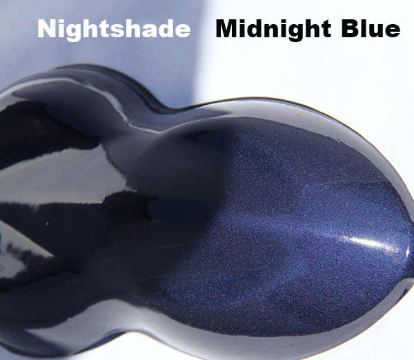 Midnight Blue Candy Paint Nightshade Pearl And Pigments
