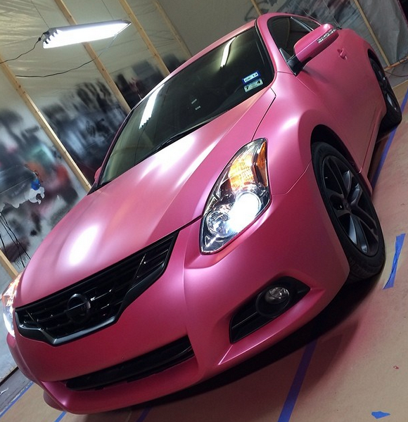 Deep Pink Candy Pearl - Custom Paint