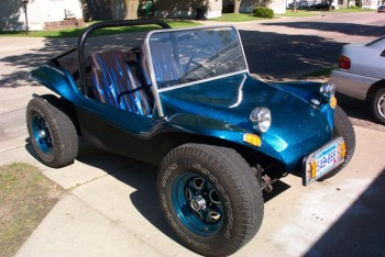 Strato Blue Metal Flake Buggy