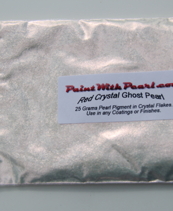 25 gram bag of Red Crystal Ghost Pearl