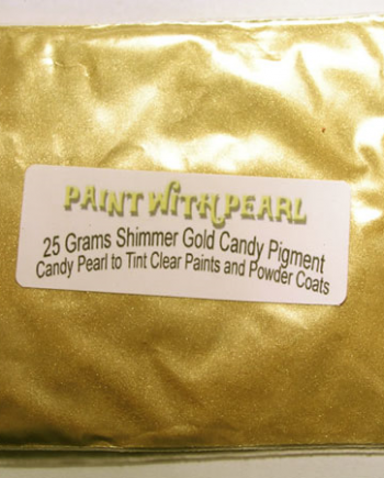 25 gram bag of Shimmer Gold Candy Pearl