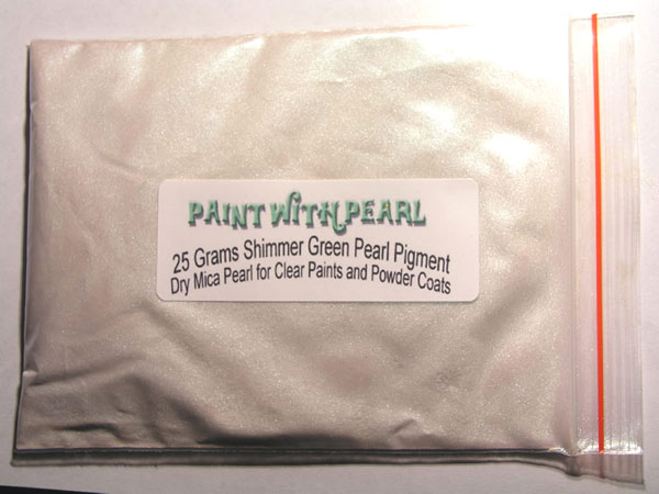 Green Shimmer Ghost Pearl