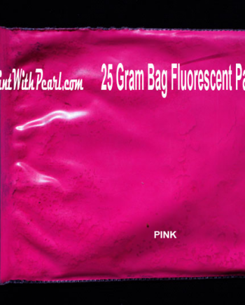 25 Gram Bag Pink Fluorescent Paint Pigment