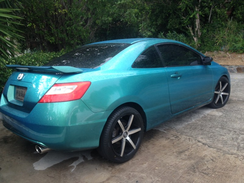 True Cars Used >> Blue Green flip (Carribean Gold) Honda Civic-Paint With Pearl