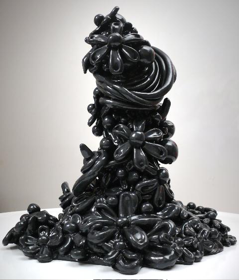 Black-Gunmetal-Candy-Sculpture
