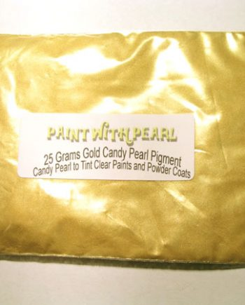 25 Gram Bag Gold Candy Paint Pearls