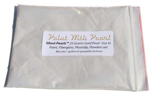 25 Gram Bag Gold Ghost Pearl.
